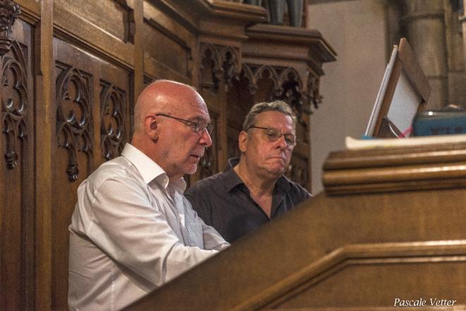 Daniel Pandolfo et Michel Van de Bossche