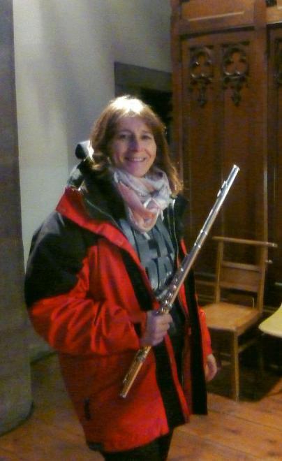 Pascale Vetter et sa flûte
