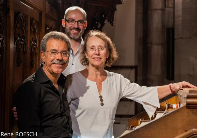 Le concertiste et ses registreurs (J. Paradell Solé, R. Lopes, B. Bergeret)