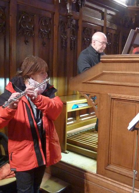 flûte (P. Vetter) et orgue (D. Pandolfo)