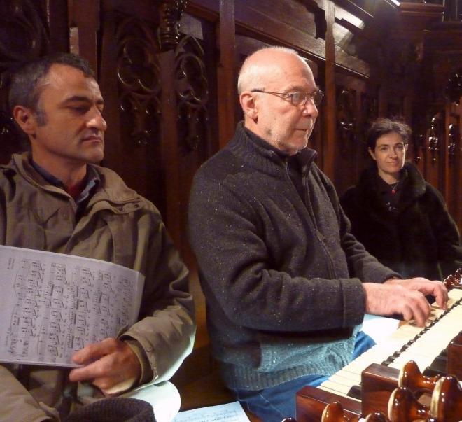 Trois organistes  (G. Blind, D. Pandolfo, E. Didier)