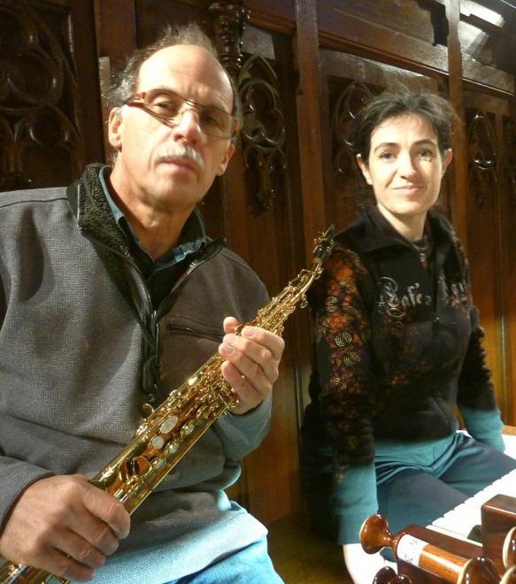 Saxo (G. Kieffer) et orgue (E. Didier)