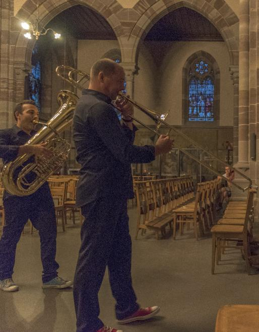 trombone : Laurent Larcelet