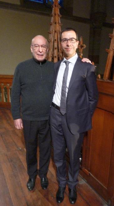 En marge du récital : L. Mengoni et D. Pandolfo