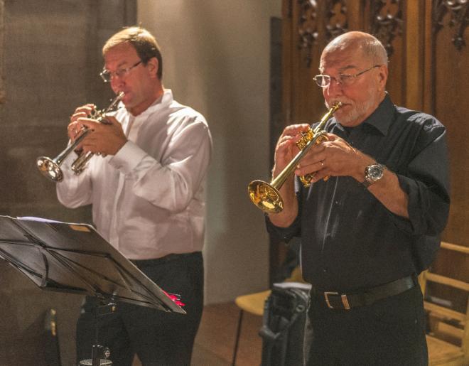 Duo de trompettes