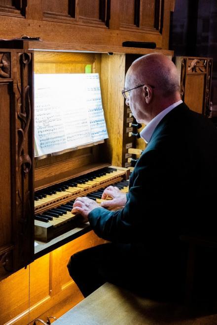 Daniel Pandolfo à l'orgue Koenig