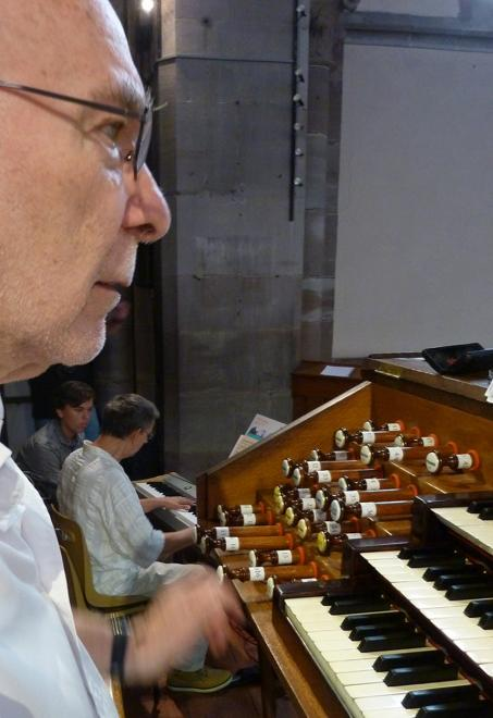 en duo  piano et orgue le 02/07/19