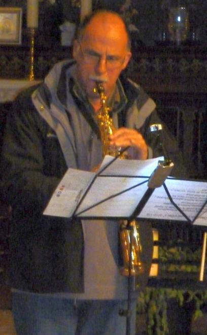 G. Kieffer au saxophone alto