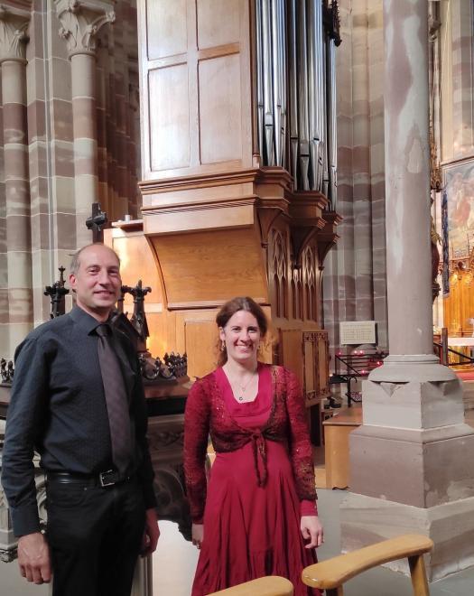 Heure Musicale 13 juin 2021 Jean François Haberer et Céline Jacob
