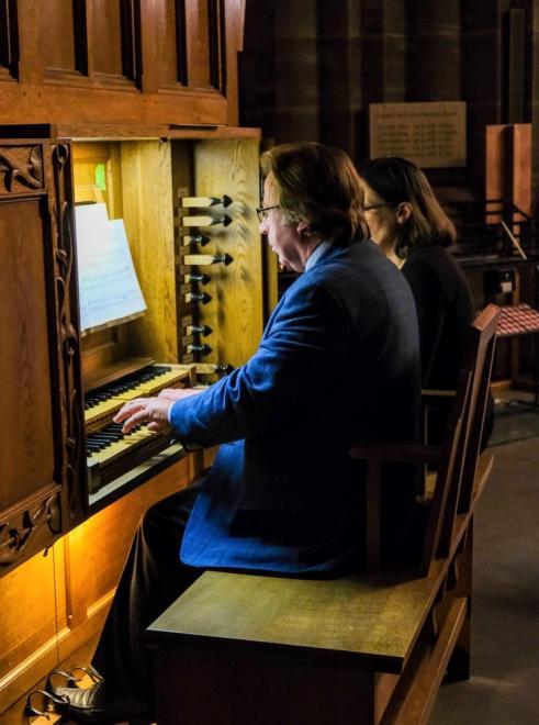 José Dorval organiste et chef de choeur