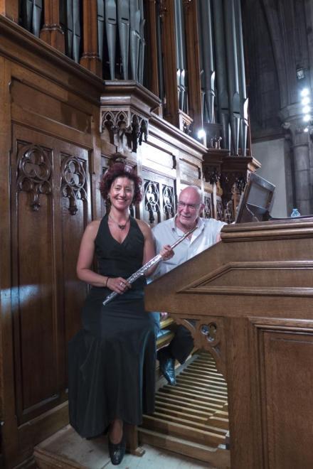Véronique Reinbold et Daniel Pandolfo