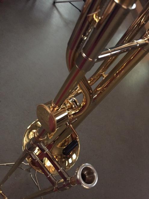 Le trombone du jour de François Halbwachs