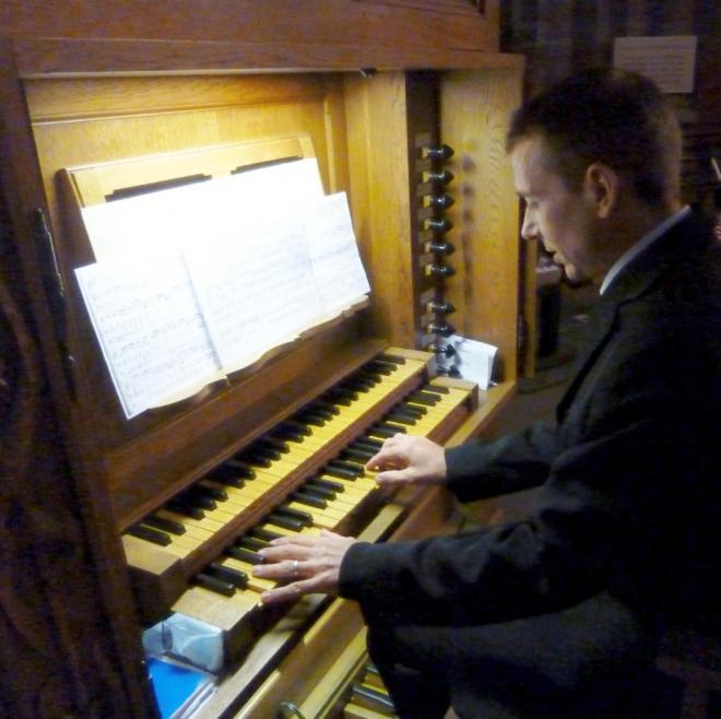 Marc Vonau à l'orgue de Chœur 5 11 mars 2018
