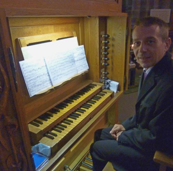 Marc Vonau  à l'orgue Koenig 11 mars 2018