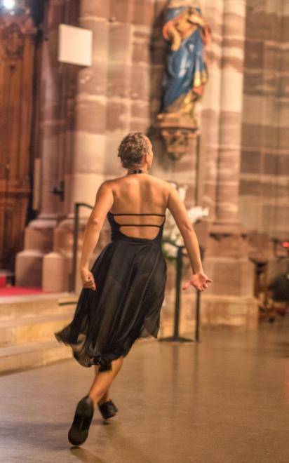 Mathilde Baal en mouvement