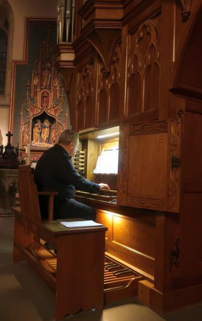 Michel Van den Bossche, organiste