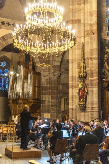 Orchestre la Philharmonie de Strasbourg et orgue de choeur