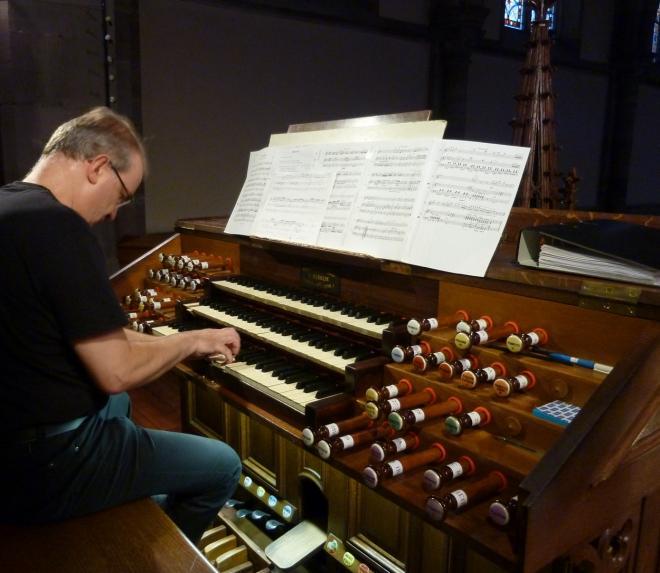 Thomas Strauss aux claviers Merklin