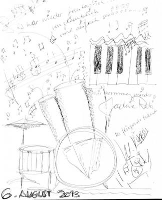 Orgue : Jakie Rubi - Percussions : Wim Dyykstra