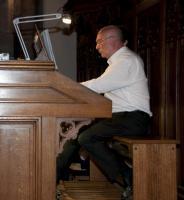 Daniel Pandolfo à l'orgue Merklin