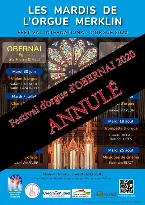 Festival obernai 2020 annulation