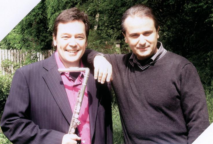 John Hackett et Marco Lo Muscio