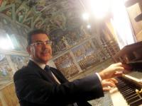 Juan Paradell Solé à l'orgue de la Chapelle Sixtine